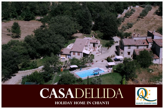 CasadellIda holiday Home in chianti